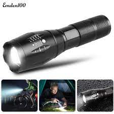 Bộ phụ kiện đèn pin LED chống trượt độ sáng cao A100