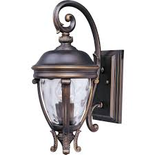home decorators collection mccarthy 1 light bronze outdoor wall mount 23442 the home depot