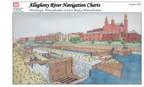 Ilmi Allegheny River Navigation Chart