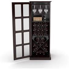 Wine rack liquor cabinet Wine Cooler Image Unavailable Amazoncom Amazoncom Kissemoj Wood Bar Wine Rack Glass Liquor Cabinet With 24