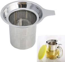 The reusable steel filter has small holes that let oils pass through and gives the coffee a richer character. Reusable Coffee Mesh Filter Strainer Stainless Steel Stainless Steel Mesh Tea Infuser Cup Strainer Loose Tea