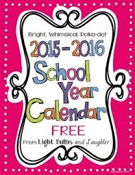 School Calendar 2015 2019 Template Free Downloadable School Calendar