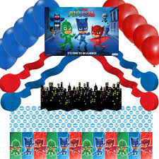 Pj Mask Party Decoration Ideas THEMES BOYS Tagged pj masks Party Majors 60