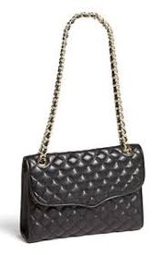 NWT Rebecca Minkoff Quilted AFFAIR Leather Shoulder Bag BLACK GOLD ... & Image is loading NWT-Rebecca-Minkoff-Quilted-AFFAIR-Leather-Shoulder-Bag- Adamdwight.com
