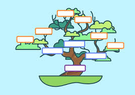 Cute Family Tree Template Vector Download Free Vectors