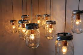 Nice DIY Lantern Lights With Hanging Indoor Diy From Ceiling Mason Jar Candle