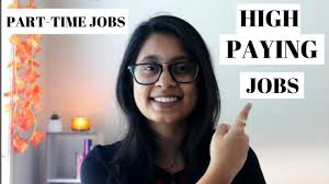 Part Time Jobs For High Schoolers High Paying Part Time Jobs For International Students In Australia