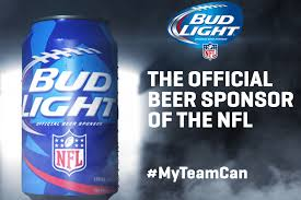 Bud Light Sports Sponsorships Bud Light Unveils 28 Different Team Specific Cans For Nfl