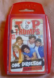 one direction the journey so far Top Trumps Card Games-Contemporary Toys &  Hobbies