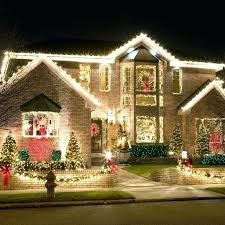 outdoor xmas lighting. Easy Outdoor Christmas Lighting Ideas Best Exterior Lights On With . Xmas