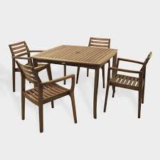 world source patio furniture elegant outdoor dining furniture and wood table sets