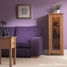 Nimbus Bedroom Furniture Nimbus Oak Compact 1450 Corner Glazed Display Cabinet Tr Hayes