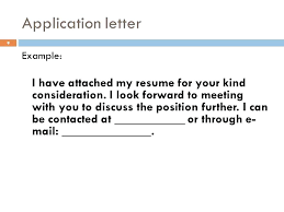 I Attached My Resume
