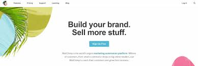 of the best email marketing services for your affiliate site  the mailchimp homepage