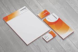 Stationery Graphic Design Business Card Letterhead Envelope Folder