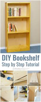build your own bookshelf. Simple Own DIY Basic Bookshelf Step By Tutorial  How To Make A Bookcase For  Beginners Making Your Own Bookshelves Is Great Way Save Money And Create  With Build Your Own K
