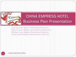 Hotel Bussiness Plan Hotel Business Plan Presentation By Lee Joanne Issuu
