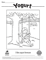 Posted in foods coloring pages. Free Printable Children S Coloring Sheet Food Hero Yogurt Coloring Page For Kids Childrens Colouring Sheets Coloring Sheets Bible Verse Coloring Page