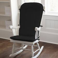 living room furniture Black Rocking Chair For Nursery Wooden