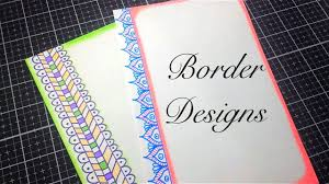 Assignment Design Images 2 In 1 Simple Border Design For Project Paper Design