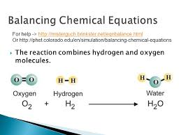 the reaction combines hydrogen and oxygen molecules