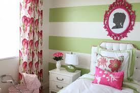 Preppy Modern Pink Green Girls Room Project Nursery