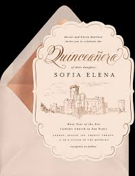 Quincenera Invitations Feliz Cumpleaños 15 Quinceañera Invitations To Celebrate