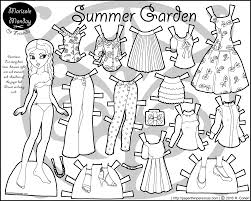 July 9, 2020july 14, 2010 by mandy groce. Paper Doll Dress Up Set Summer Garden