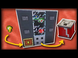 Minecraft How To Make A Vending Machine Magnificent Minecraft Working Vending Machine 48D VIDEO