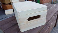 Plain Wooden Boxes To Decorate Set Two Plain Wood Wooden Box Wooden Chest Trinket box Box for 85