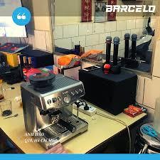 Máy pha cà phê Breville 878 the Barista Pro của Úc - Hàng Chính Hãng -  Barcelo Coffee