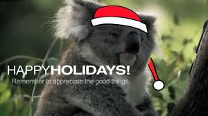 Christmas Koala - YouTube