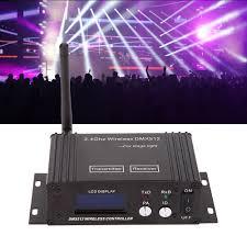 Disco Light Controller Us 28 88 39 Off 2 4g Wireless Dmx 512 Controller Transmitter Receiver Lcd Display Dmx Controller Repeater Disco Light Led Par Light Controller In