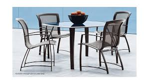 Brown Jordan Outdoor Kitchens Brown Jordan Wave Brown Jordan Wave 5 Piece Outdoor Dining Set