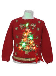 Light Up Christmas Sweater Kids Casual Corner Unisex Kids Multicolor Lightup Ugly Christmas Sweater