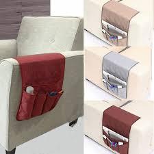 5 pocket armchair sofa book storage candy organizer tv remote control holder new