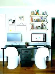 two person desk home office furniture for 2 f84 for