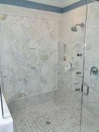 Bathroom Shower Tile Marble Master Bathroom Traditional Bathroom