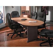 office table round copy round office conference table in sienna walnut finish