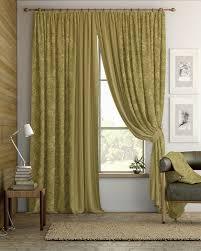 Купить шторы с подхватом из репса <b>Шабиз</b> (<b>бежево-оливковый</b> ...