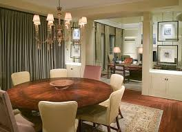 dining table and chairs view in gallery round