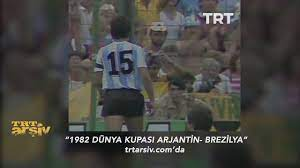 1982 Dünya Kupası Arjantin-Brezilya Grup Maçı - YouTube