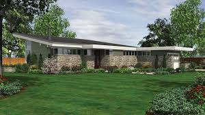 Small Picture 4 Home Plans with the Midcentury Modern Look