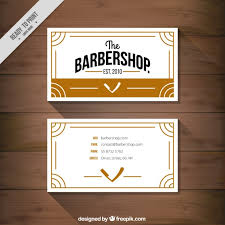barbershop business cards barbershop business card vector free download