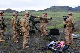 u s department of defense photo essay u s army cpl christopher parker center instructs iers on a tube launched