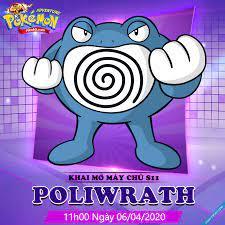 WebGame - Nhận Ngay 1000 Code Vip S11 Poliwrath Poke Adventure H5 Trên  Metaph5