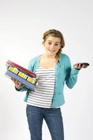 Apps to Get Homework Done Faster for ADHD Students A blond ADHD student using one of   apps to get homework done faster