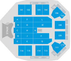 The Event Complex Aberdeen Guide To Seating Plan
