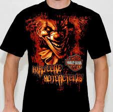 5503v863 harley davidson mens hardcore tradition clown black