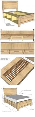 Best 25+ Bed frame with storage ideas on Pinterest   Bed frame storage, Bed  frame with drawers and DIY storage bed plans